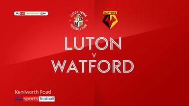 Luton 1-0 Watford
