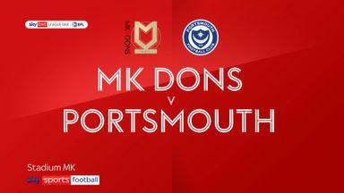 MK Dons 1-0 Portsmouth