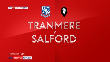 Tranmere 0-0 Salford