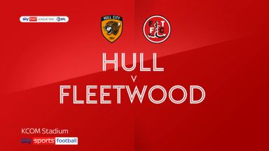 Hull 2-1 Fleetwood