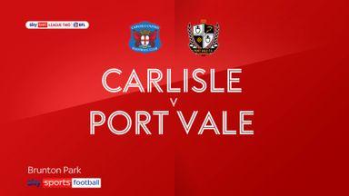 Carlisle 0-0 Port Vale