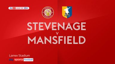Stevenage 0-1 Mansfield