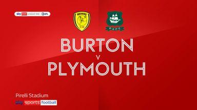 Burton 1-1 Plymouth