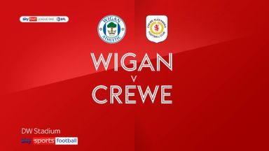 Wigan 2-0 Crewe