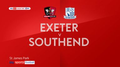 Exeter 0-0 Southend