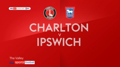 Charlton 0-0 Ipswich