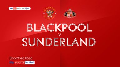 Blackpool 1-0 Sunderland