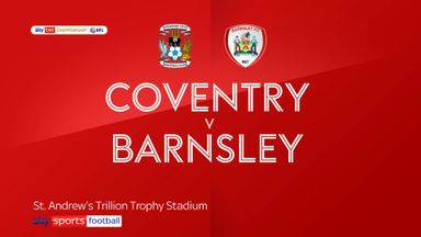 Coventry 2-0 Barnsley