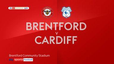 Brentford 1-1 Cardiff