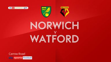Norwich 0-1 Watford