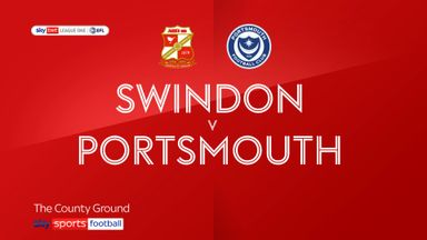 Swindon 3-1 Portsmouth