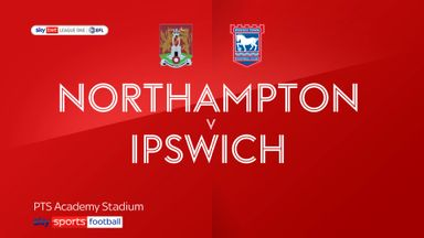 Northampton 3-0 Ipswich