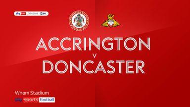 Accrington 2-1 Doncaster
