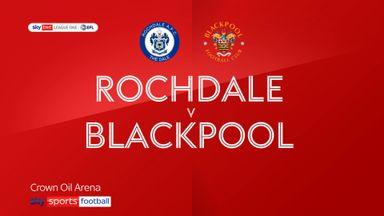 Rochdale 1-0 Blackpool