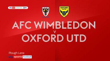 AFC Wimbledon 2-1 Oxford