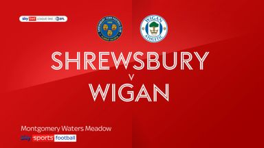 Shrewsbury 1-2 Wigan