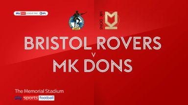 Bristol Rovers 0-2 MK Dons