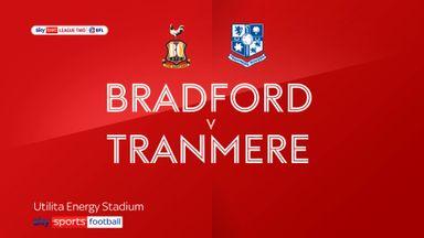 Bradford 0-1 Tranmere