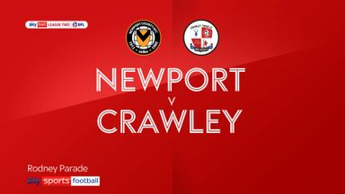 Newport 2-0 Crawley