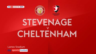 Stevenage 0-1 Cheltenham