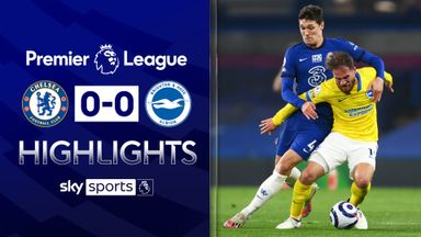 Chelsea held by 10-man Brighton