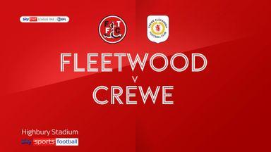 Fleetwood 0-2 Crewe