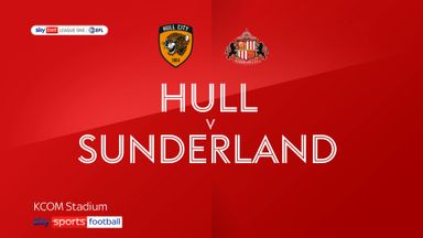Hull 2-2 Sunderland