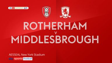 Rotherham 1-2 Middlesbrough
