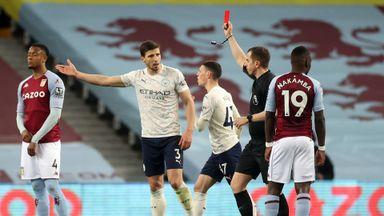 HT Aston Villa 1-2 Manchester City