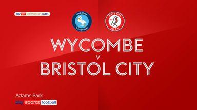 Wycombe 2-1 Bristol City