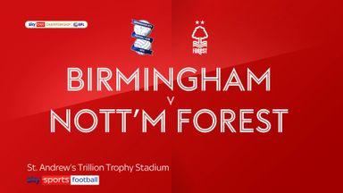 Birmingham 1-1 Nott'm Forest