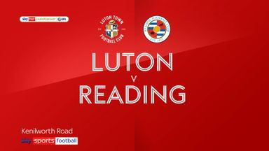 Luton 0-0 Reading