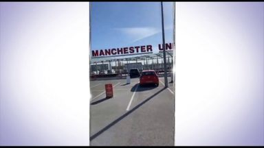 Fans break into Man Utd training ground in protest