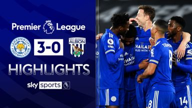 Leicester sink WBA to bolster CL hopes