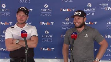Golfing teammates: Willett and Hatton