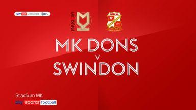 MK Dons 5-0 Swindon