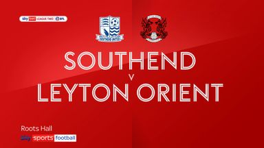 Southend 2-1 Leyton Orient