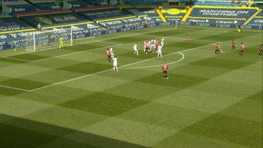 Fernandes free-kick goes over (31)