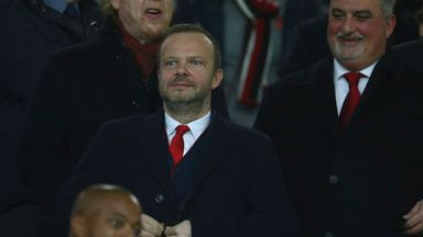 Ed Woodward, executive vice chairman of Manchester United, at a Champions League tie in 2019