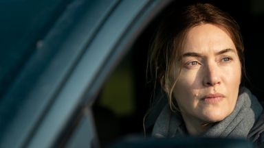 Kate Winslet stars in Mare Of Easttown. Pic: Sky UK/HBO