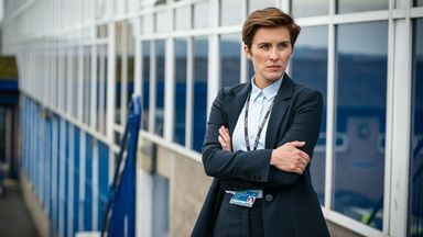 Vicky McClure as Kate Fleming in Line Of Duty. Pic: BBC/World Productions/Steffan Hill