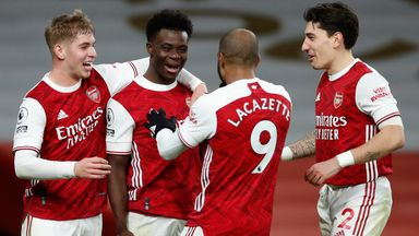 Arteta: Youngsters ready to take responsibility