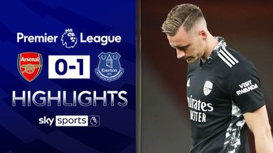 Leno howler gifts Everton win