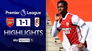Last-minute Nketiah goal breaks Fulham hearts
