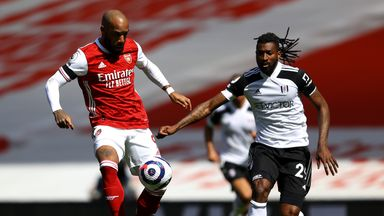 HT Arsenal 0-0 Fulham