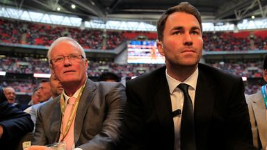 Hearn proud of Matchroom story