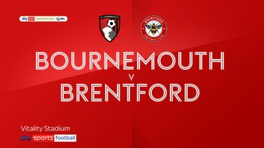 Bournemouth 0-1 Brentford