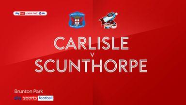 Carlisle 2-2 Scunthorpe