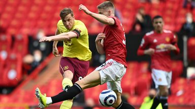 HT Manchester Utd 0-0 Burnley