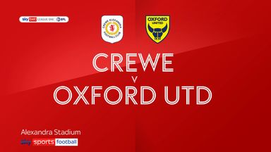 Crewe 0-6 Oxford Utd